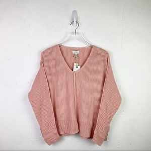 NWT Lucky Brand Pink Sweater